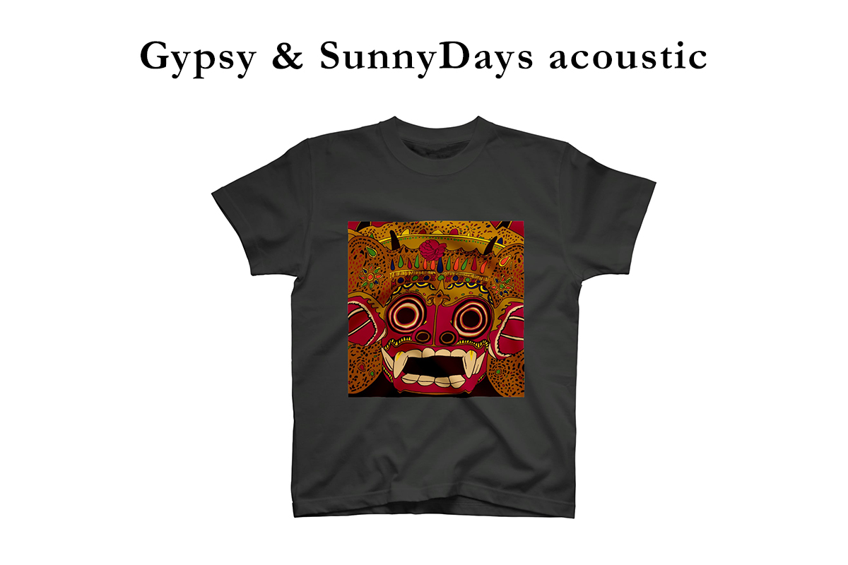 Gypsy & SunnyDays acousticグッズ販売
